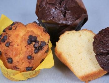 Muffins Σοκολάτα βανίλια